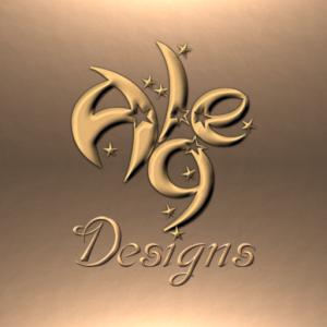 Alge Logo Full Gold